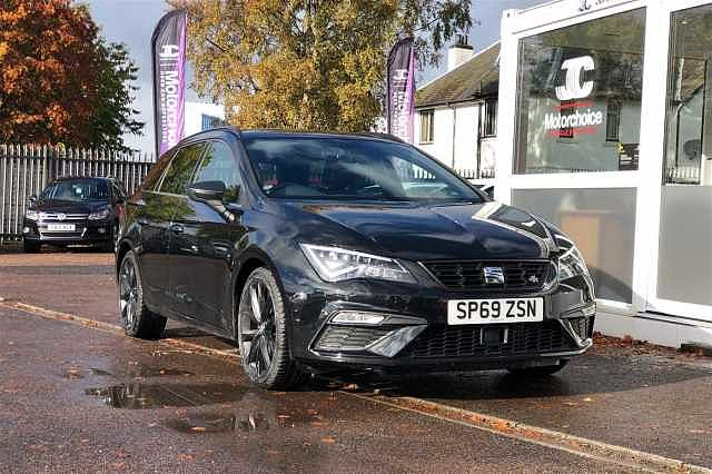 SEAT Leon Estate 2.0 TDI FR Black Edition (150ps) DSG